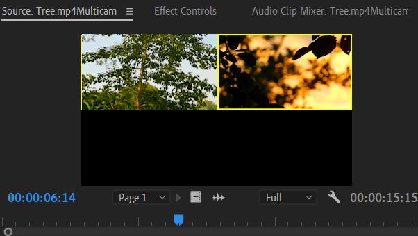 Premiere Pro: Multi-Camera Source Sequence on Source Monitor