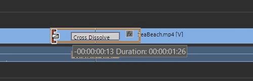 Premiere Pro: Changing Cross Dissolve Transition Duration